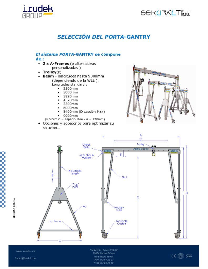 thumbnail of SELECCIÓN DEL PORTA GANTRY