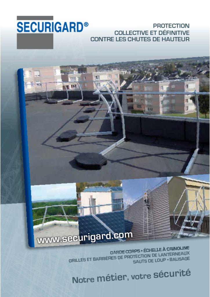 , CATALOGO SECURIGARD BARANDILLAS, Orion Seguridad