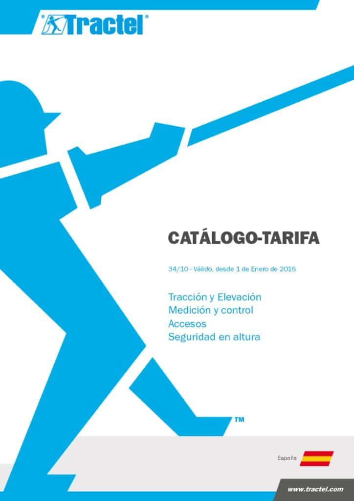 , TRACTEL: CATALOGO ALTURAS Y ELEVACIÓN 2016, Orion Seguridad