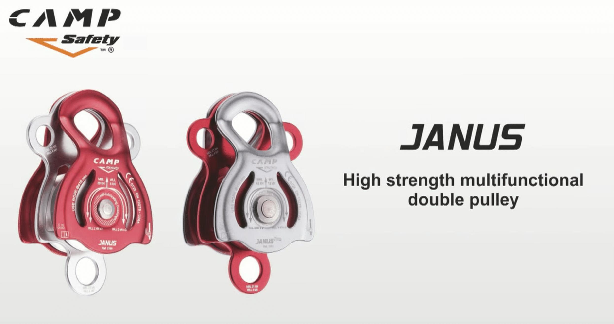 , Poleas dobles multifunción JANUS de CAMP, Orion Seguridad