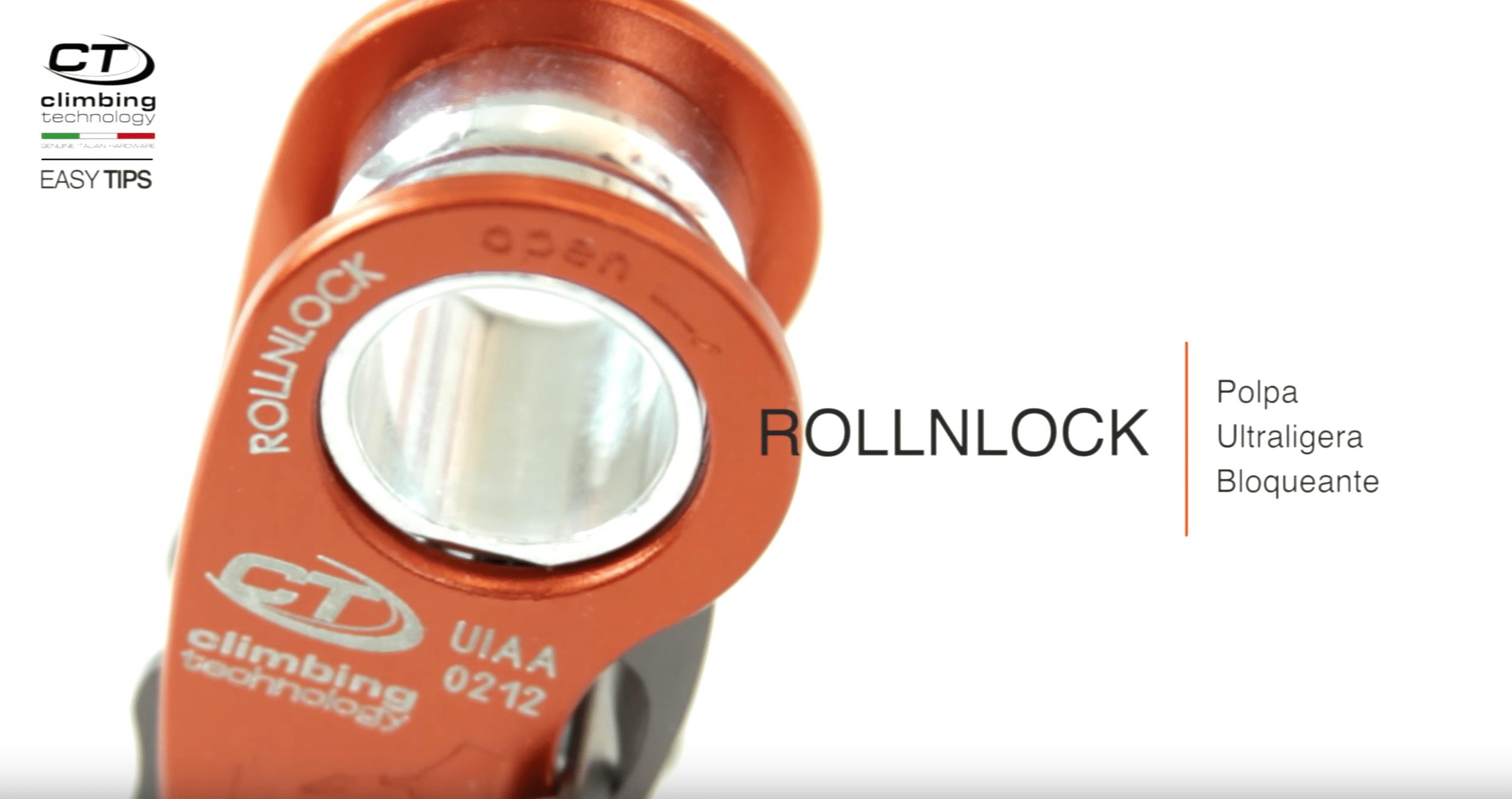 , Polea bloqueadora ROLLNLOCK de CLIMBING TECHNOLGIES, Orion Seguridad