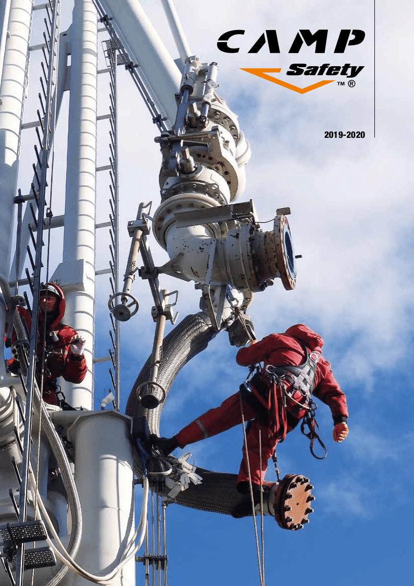 , CATÁLOGO CAMP SAFETY 2019, Orion Seguridad