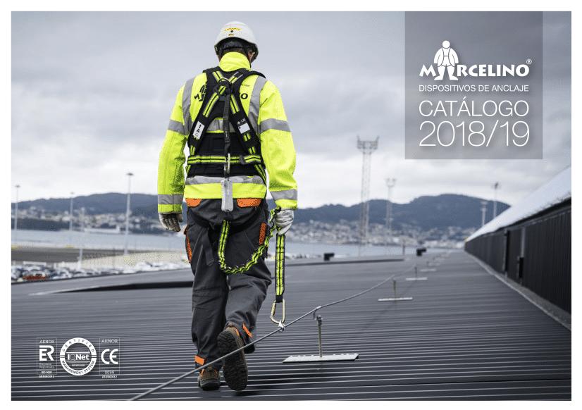 , CÁTALOGO ANCLAJES MARCELINO 2018-2019, Orion Seguridad