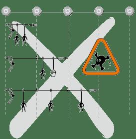 Capacidad línea de vida horizontal en Orion Seguridad